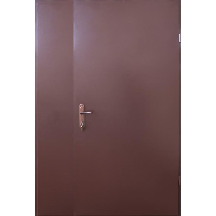 Техническая двухстворчатая дверь ТМ Форт серия Эконом